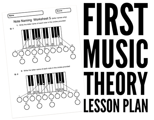High School music lesson plans
