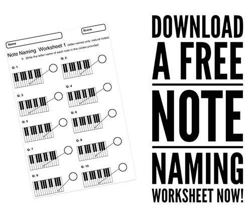 Free music theory worksheets to download and print
