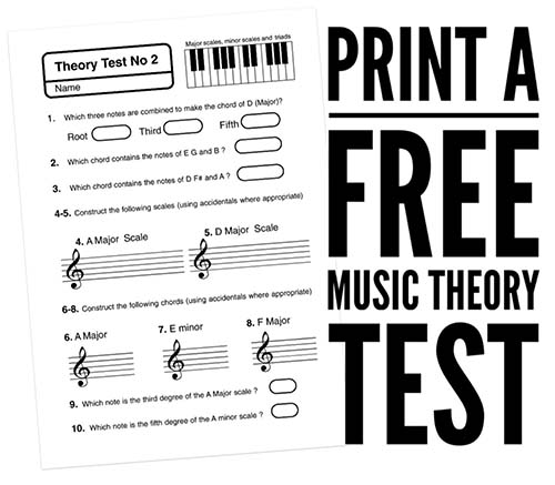 Free Music Theory Worksheets – Music Notation Worksheets