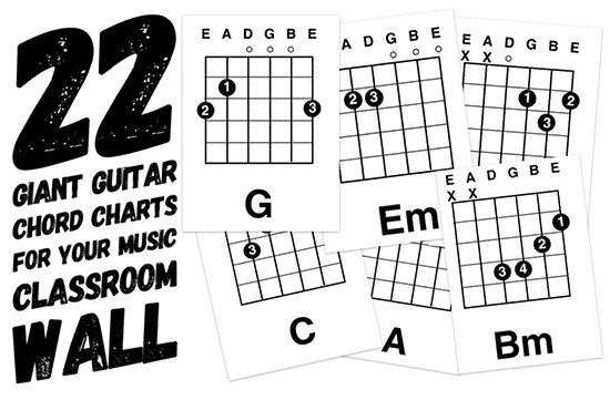 guitar theory and basic beginners guitar chords