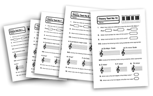 music education theory test papers