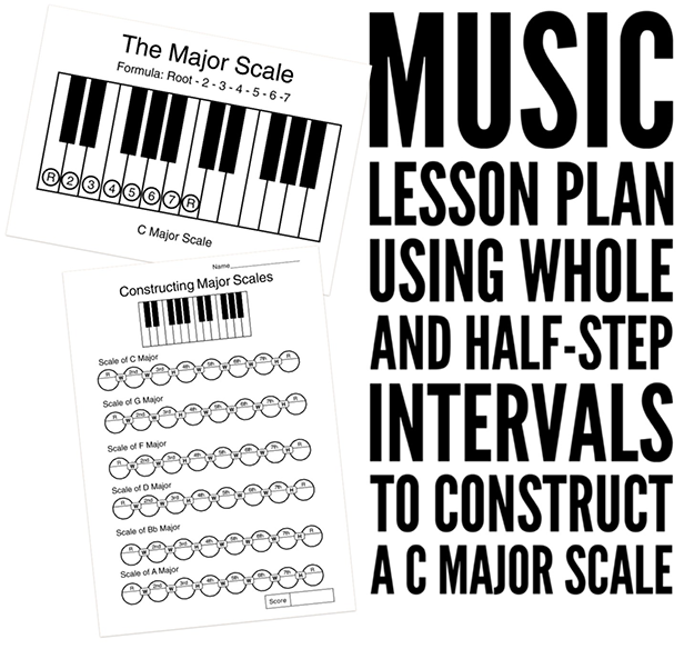 High School music theory lesson plans