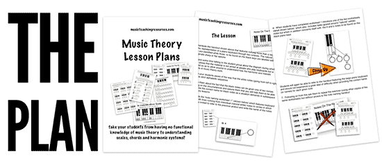 music theory worksheets handouts and lesson plans