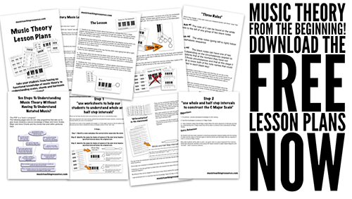 music theory lesson plans