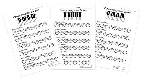 music theory note identification handouts to print