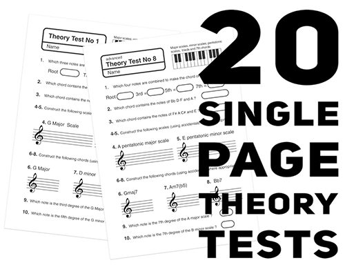 Music Theory Test Papers