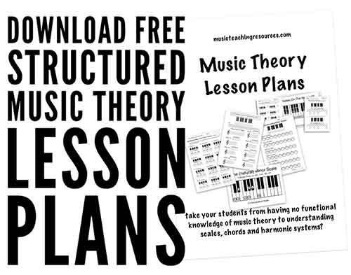 High School Music Worksheets