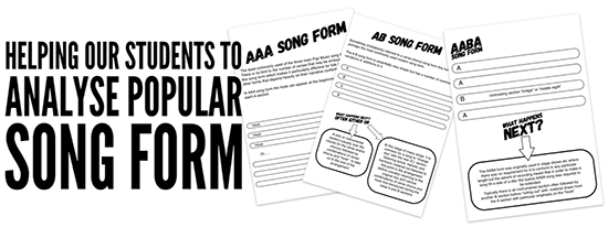 analysis of pop music song forms