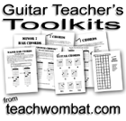 guitar teacher's toolkits